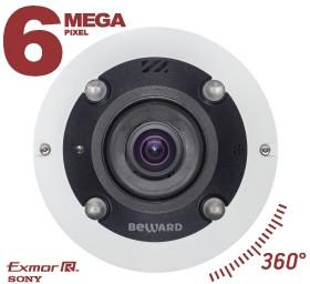 Fisheye IP камера BEWARD BD3670FL2