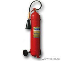 Огнетушитель углекислотный ОУ-10(ОУ-7) на шасси