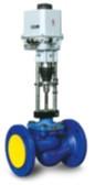 Седельный двухходовой регулирующий клапан с электроприводом серии 100 КПСР 1-50-ХХХ