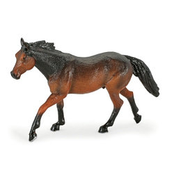 Mojo Ковбойская рыжая лошадь