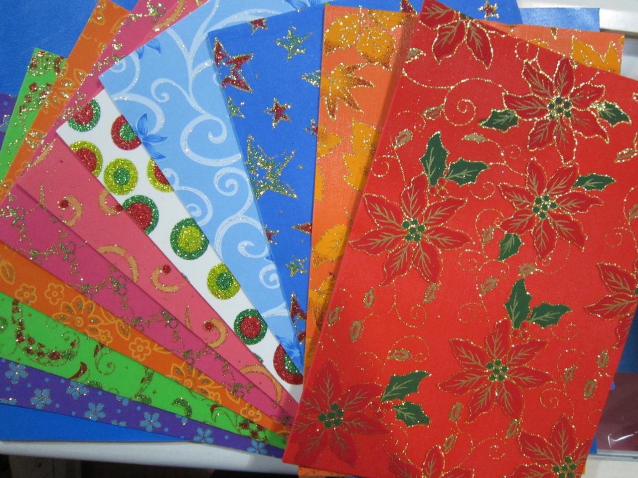 Фоамиран с рисунком, формат А4 , 10 шт. в упаковке, Алматы