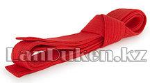 Пояс для кимоно 230 см красный