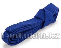 Пояс для кимоно 220 см синий