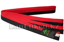 Пояс для кимоно 265 см черно-красный