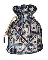 """Копилка """"Мешочек с долларами"""" (13* 11 *7 см)"""