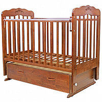 """Кровать детская  120*60 """"ВИОЛЕТТА""""-6 маятник с ящиком, фото 1"""