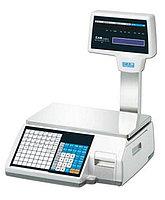 Торговые весы со встроенным термопринтером для печати этикеток CAS CL5000