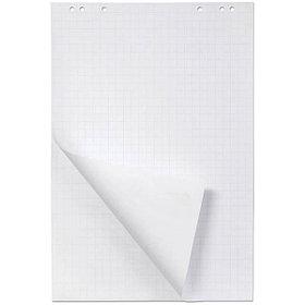 Блок бумаги для флипчарта 64*96 см, белый, 20 л, в клетку.