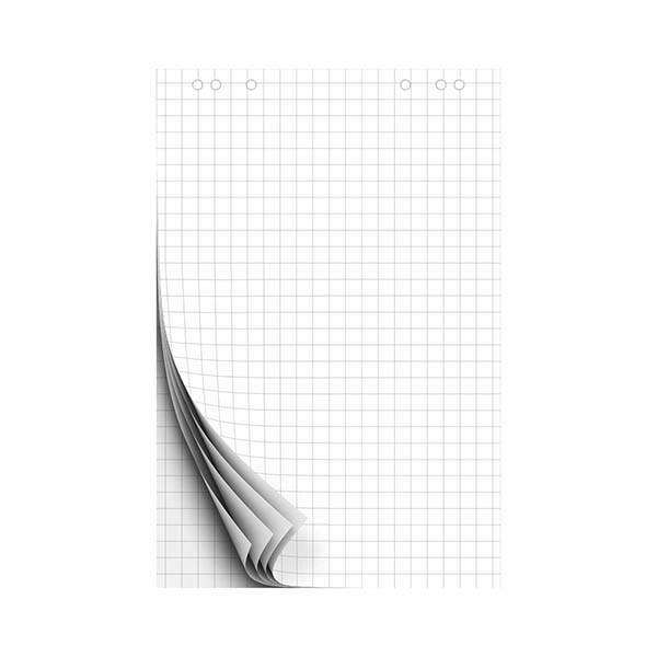 Блокнот для флипчарта 67,5*98 см, 20 л, клетка.