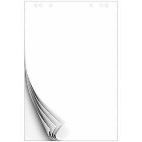 Блокнот для флипчарта, 67,5 * 98 см, 20 л, белый.