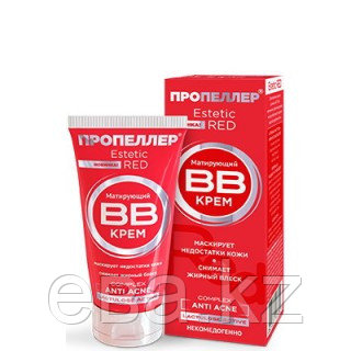 Пропеллер  ESTETIC RED ANTI ACNE COMPLEX 40мл матирующий  BB-крем