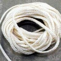 Фитиль из натуральной хлопчатобумажной нити для свечей, фото 1
