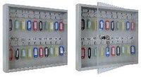 Ключница со стеклянной дверцей KЛС-20 на 20 ключей