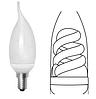 Свеча на ветру люминесцентная (спиральная)