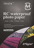 Бумага TRACK RC водостойкая суперглянцевая, A4 270 гр