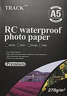 Фотобумага TRACK, RC водостойкая, суперглянцевая, A5 270 гр