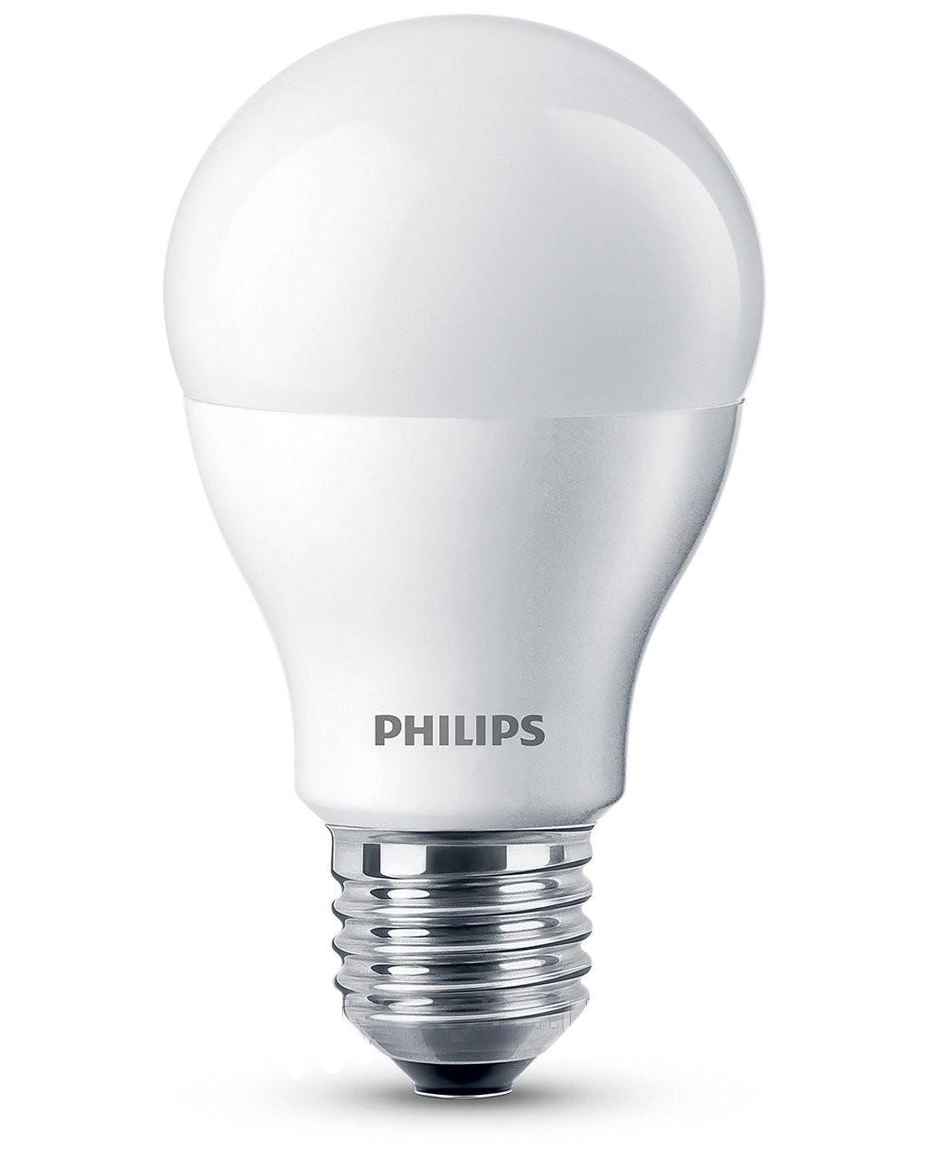 Лампа светодиодная Philips LEDBulb  10.5W 3000K