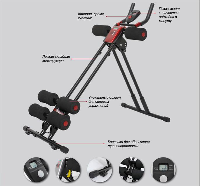 Силовой тренажер OTO Cruncher CH-1080