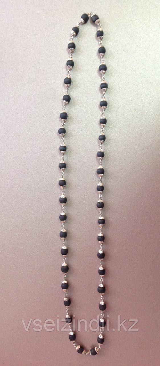 Катхиматы в серебре с Туласи , темные, большие