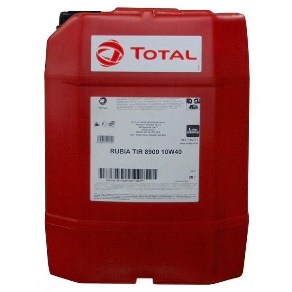Total Rubia 8900 10w40 дизельное синтетическое масло 20л.
