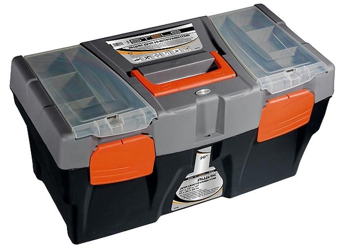 """(90706) Ящик для инструмента, 590 х 300 х 300 мм (24""""), пластик// STELS"""