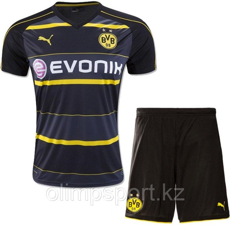 Детская выездная форма Боруссия Дортмунд (Borussia Dortmund) сезон 2016-2017