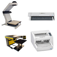 Книжные и документ сканеры