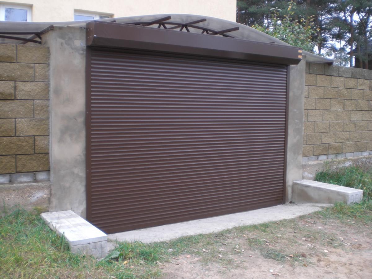Рулонные ворота Алютех