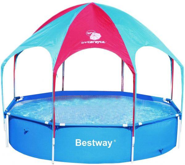 каркасный бассейн для всей семьи 56193