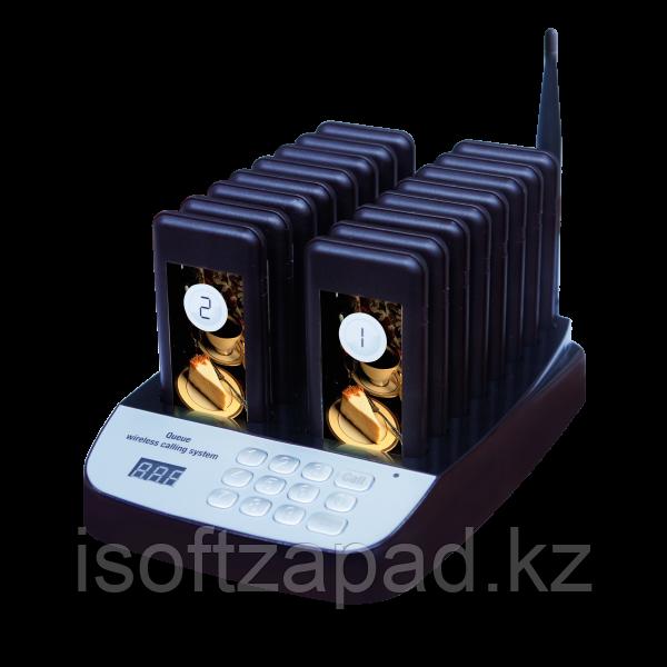 Система оповещения клиентов iBells-020, комплект с 20 пейджерами