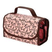Органайзер дорожный, ПВХ, текстиль, 43х20см, розовый, #769 367-051