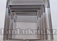 Металлическая квадратная форма для выкладки салатов, гарниров 6 в 1