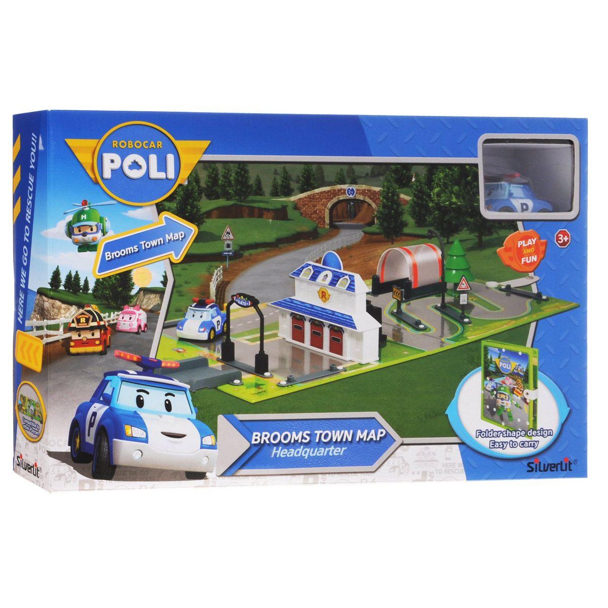 """Robocar Poli Игровой набор """"Город"""" - Полицейский участок"""