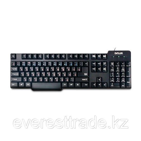 Клавиатура проводная Delux DLK-8050UB USB