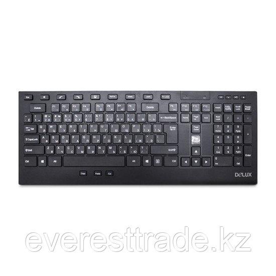 Клавиатура беспроводная Delux DLK-2200GB