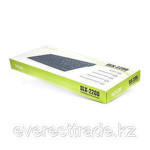 Клавиатура беспроводная Delux DLK-2200GB, фото 2