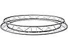 Ферма-круг DPD2203-3 Ø 3м, Ø трубы 32 мм