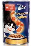 Felix Sensations с Говядиной и томатами в желе Влажный корм для кошек 85 г, фото 1