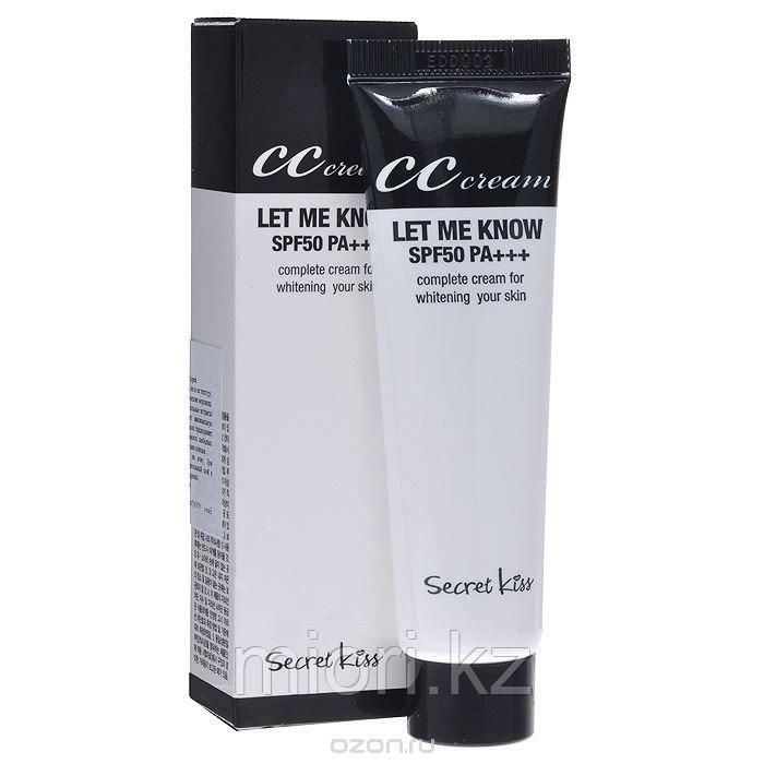 СС крем для сухой кожи SECRET KEY Let Me Know CC Cream SPF50, 30мл