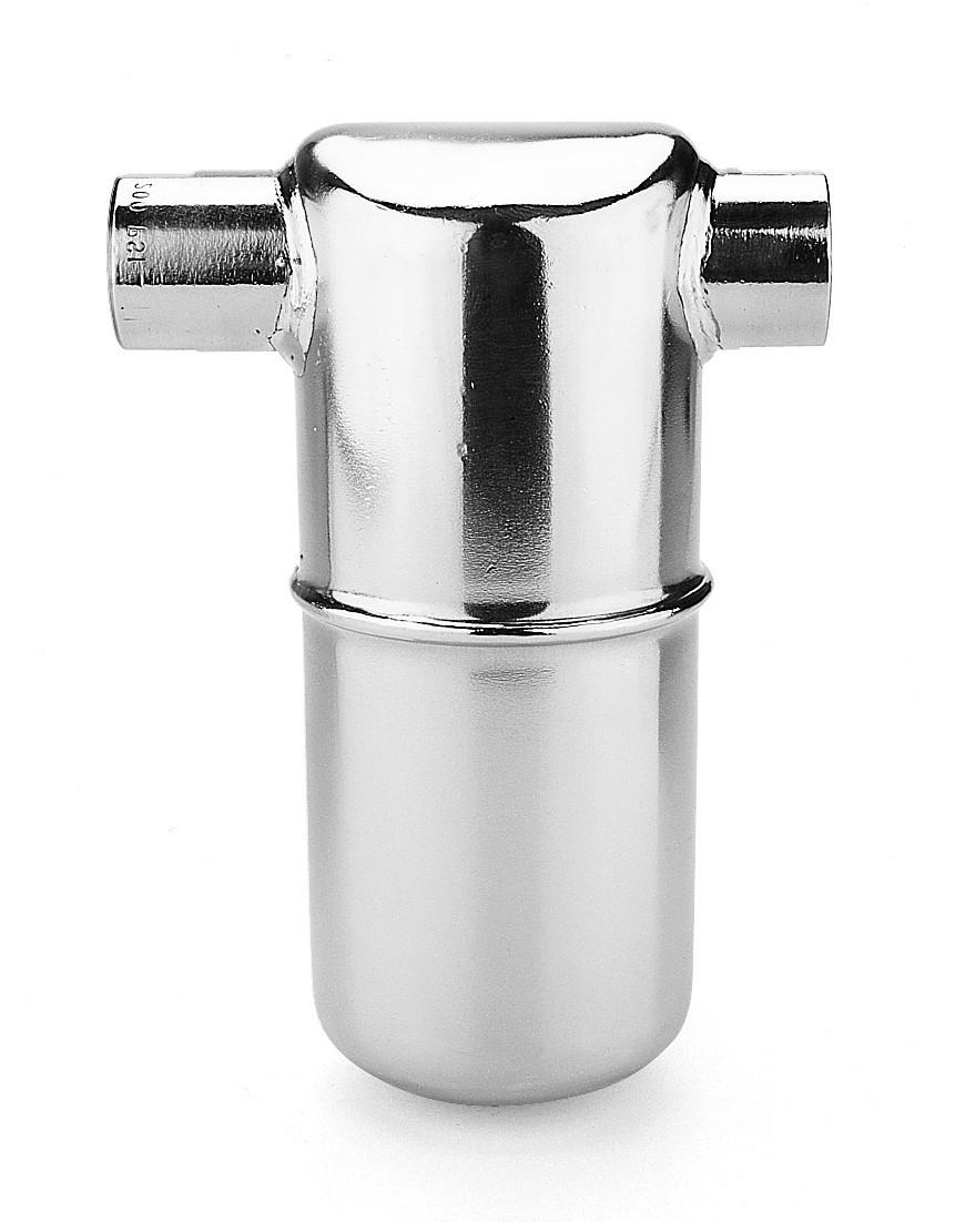 """Конденсатоотводчик типа """"перевернутый стакан"""" резьбовой 1/2"""" из нержавеющей стали, модель 1810"""