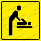 """Тактильная пиктограмма табличка """"Комната матери и ребенка"""", фото 3"""