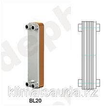 Теплообменник паяный Ditreex BL20-50D/2 (двухстороннее подключение)