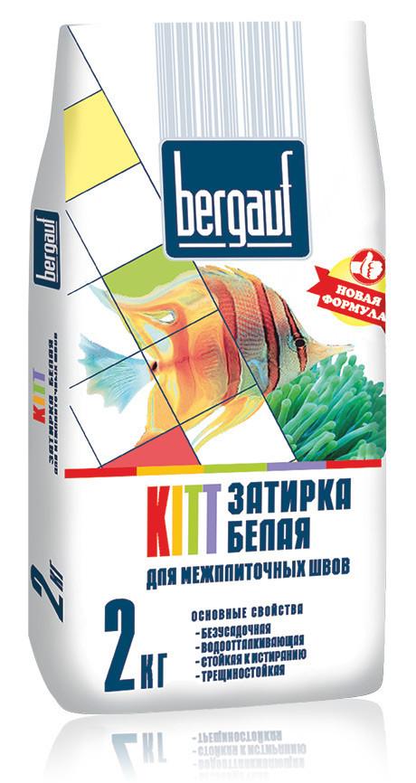 Затирка для швов Bergauf KITT, цвет серый