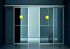 Наклейка на двери Световой маяк, цветовой круг, фото 3