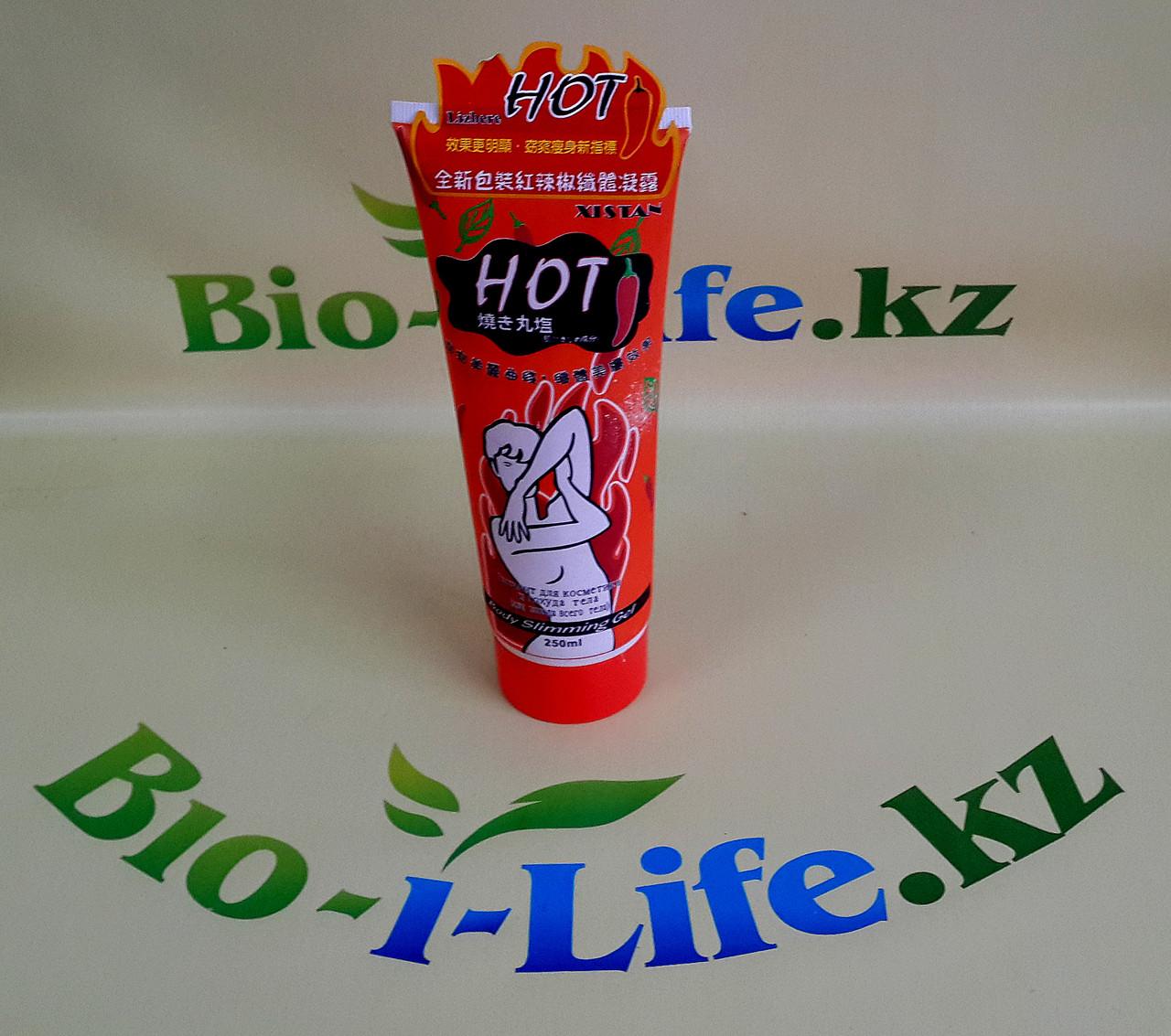 Гель для похудения Body Slimming  HOT на основе перца 250ml.