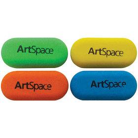 Ластик, ArtSpace, овальный, синтетический каучук, 35*15*10 мм.