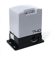 FAAC 740 электропривод для откатных ворот массой до 500 кг