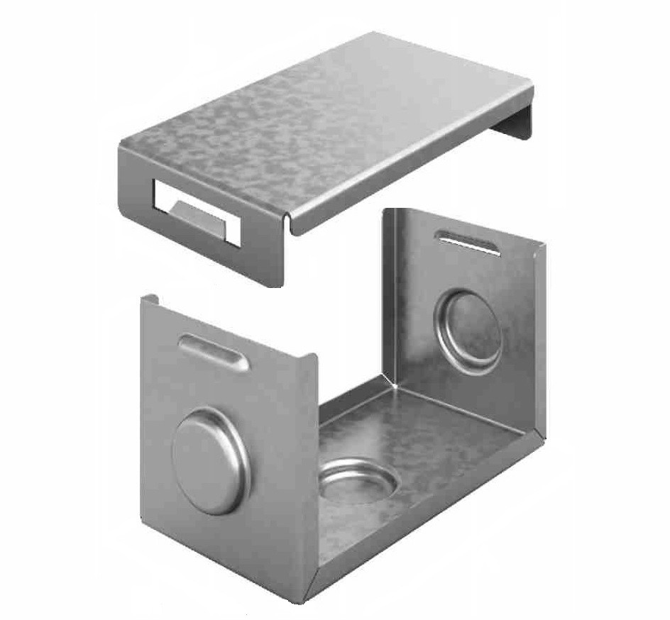 Система защиты стыка IP44 для лотка 100х80