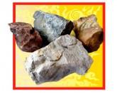 Кварцит камень для бани, 20кг колотый
