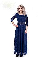 Нарядное гипюровое женское платье